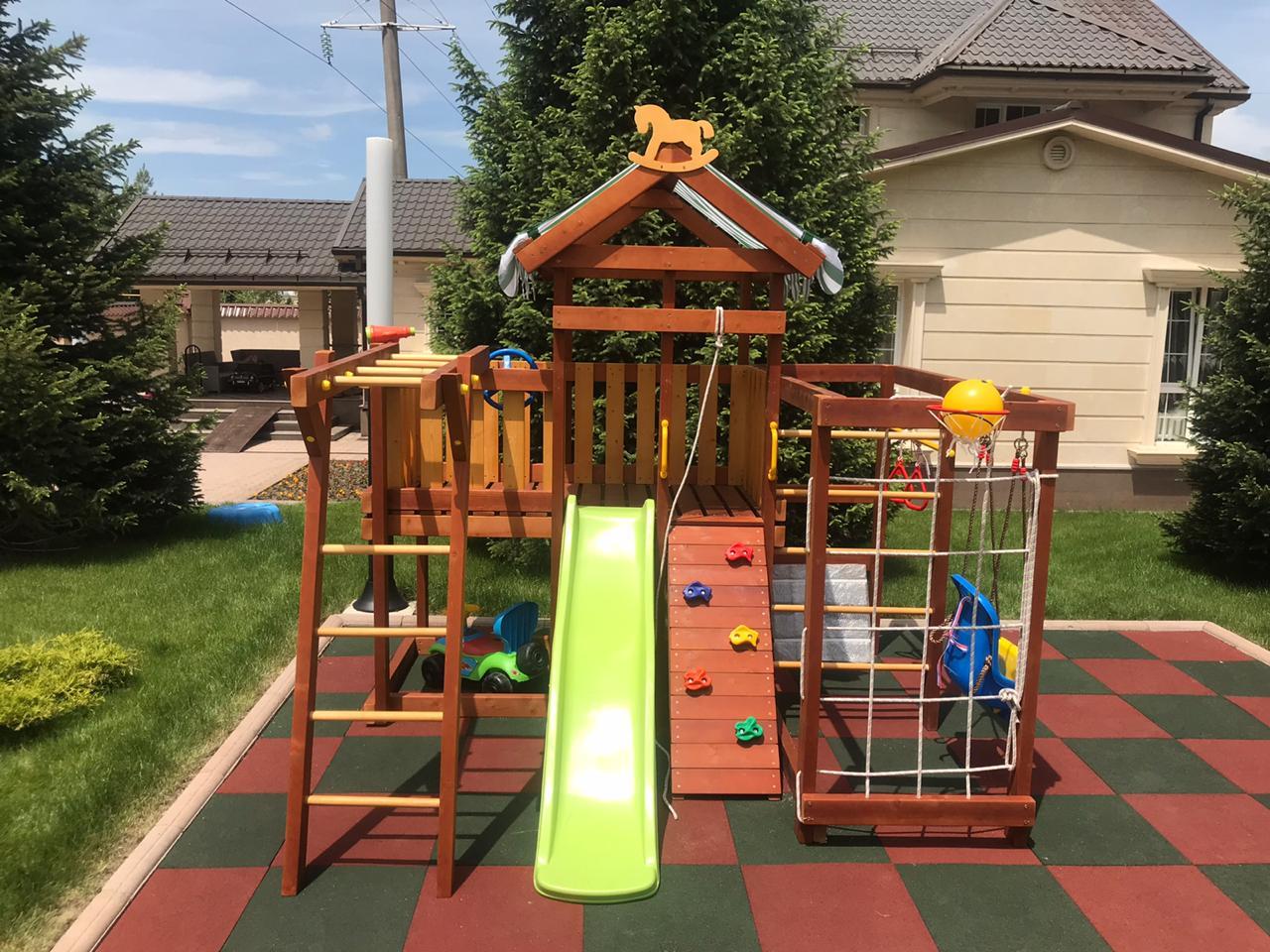 элементы детской игровой площадки